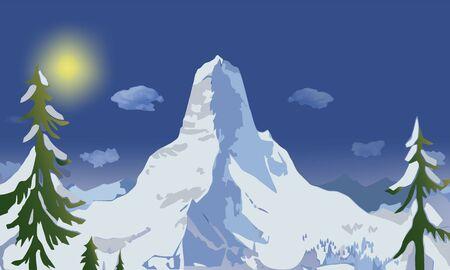 Winter landscape Stock Vector - 13996812