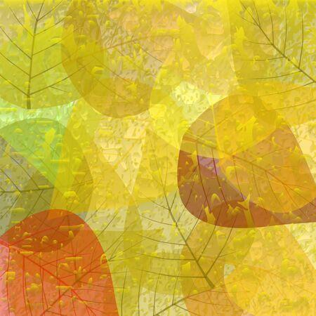Naadloze patroon bladeren