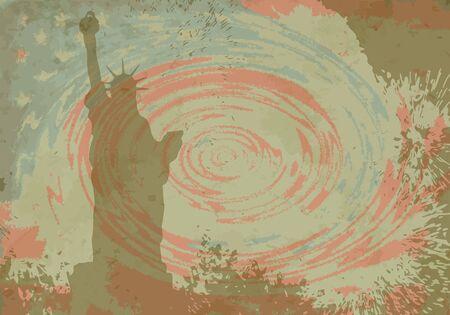 USA symbolic Vector