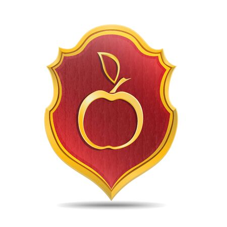 golden apple: Golden apple Illustration