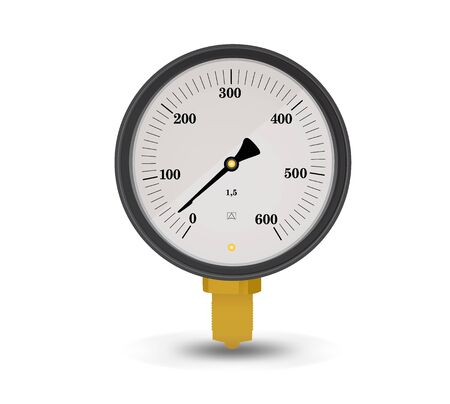 Measuring device on a white background Vector