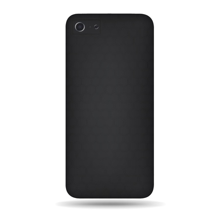 Vector carbon back cover smartphone