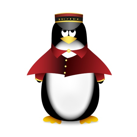 Penguin porter Vector