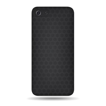 carbon back cover smartphone