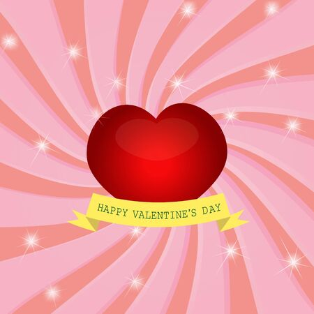 Paper cut Valentine s Day Stock Vector - 17284471