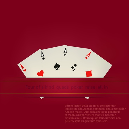 vegas strip: Card  related vector for Your custom text  Illustration