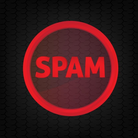 spy ware: Spam sign.