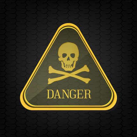 Sign danger. Vector Stock Vector - 17982751