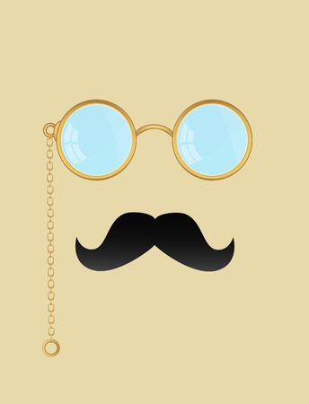 Man with glasses and a mustache