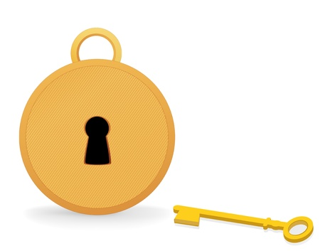 golden key: Castle and the golden key