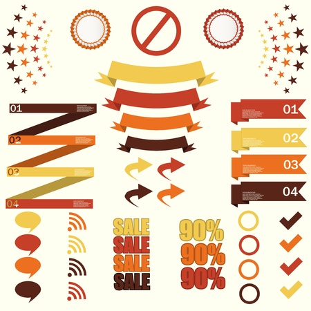 Graphic or website layout vector  Illustration