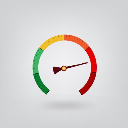 metrology: voltmeter icon