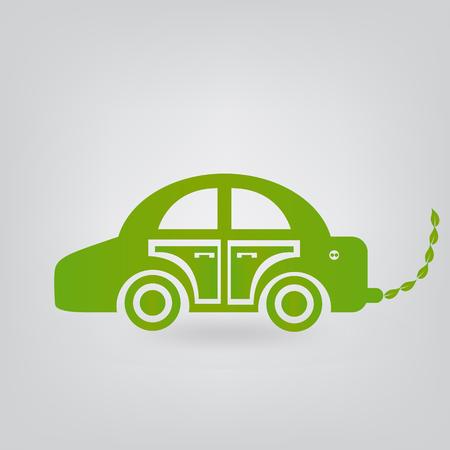 ecologic: coche ecol�gico Vectores