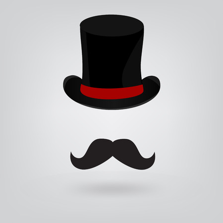 groucho: Hat and mustache icon
