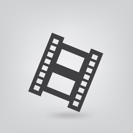 expressing negativity: film frame icon