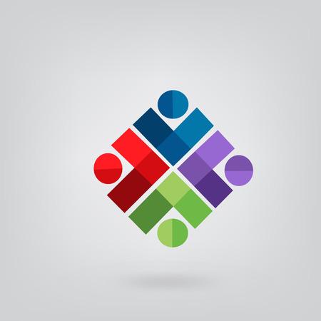 Social people icon Vector