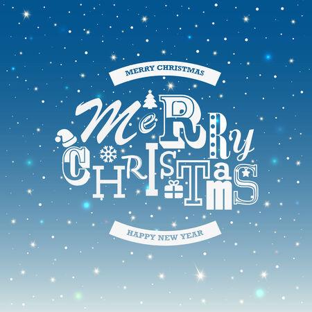 christmas backgrounds: Christmas type design backgrounds. Illustration