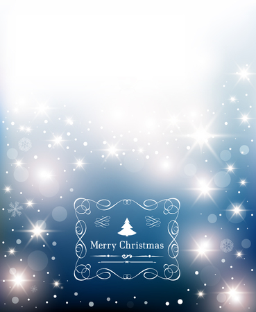 Stars Christmas Background.
