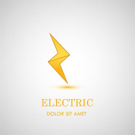 lightning flat icon.