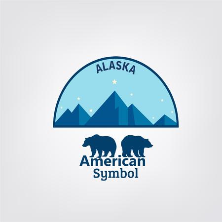 Alaska typografie