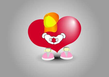 Shows heart hands love Stock fotó - 138433470