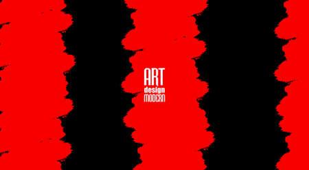 Grunge background. Black and blood cross abstract design. Illusztráció
