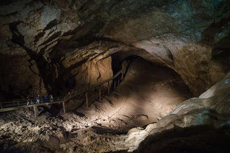 Abkhazia. New Athos Cave