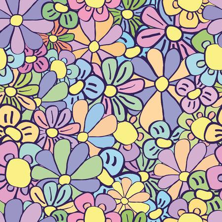 floristic: seamless floristic texture