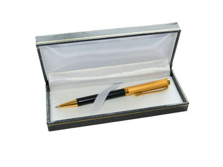 Beauty pen in grift black box. photo