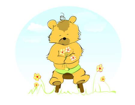 Beauty bear. photo