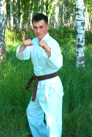 karateka: The karateka.