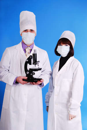 Scientists working together. Stock Photo - 6101615