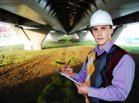 Engineer. Stock Photo