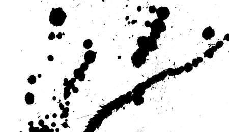 The smeared blots. Banco de Imagens