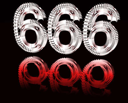 666 the number.