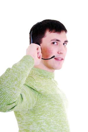 A friendly telephone operator. Stock Photo - 7985777