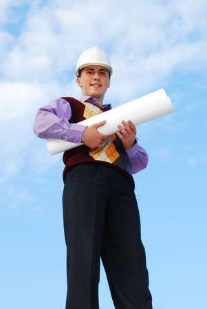 Industrial theme: architect. Stock Photo - 8115411
