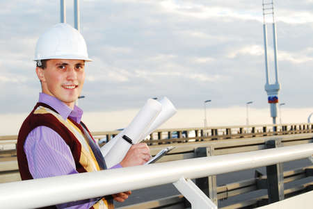 Engineer. Stock Photo