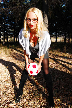 Sexy soccer player photo