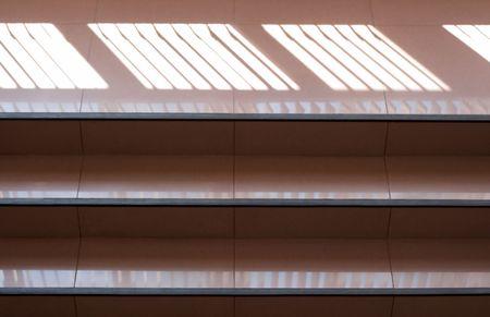Escalera en un �tico  Foto de archivo - 7368176