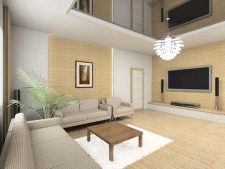 furnish: Modern inteior. New design.