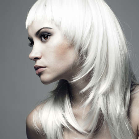 Photo of beautiful woman with blond hair Stock Photo - 7142701