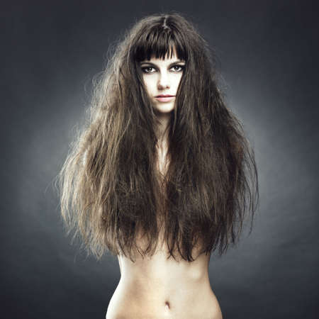 Photo of beautiful woman with magnificent hair Stock Photo - 7706002