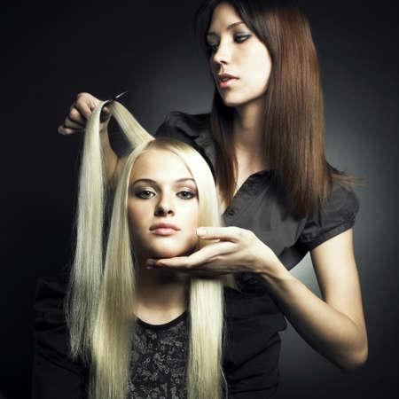 Woman in a beauty salon. Conceptual photo Stock Photo - 8191574