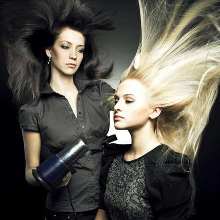 Woman in a beauty salon. Conceptual photo Stock Photo - 8191569