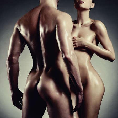 nackt: Art photo of nude sexy Paar in der Ausschreibung Leidenschaft