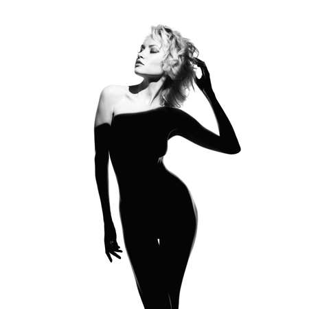 Fashion art photo of beautiful lady with gorgeous body Stock fotó