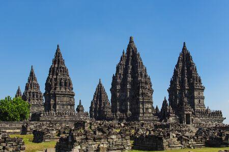 prambanan: an ancient Indonesian temple Prambanan in Java