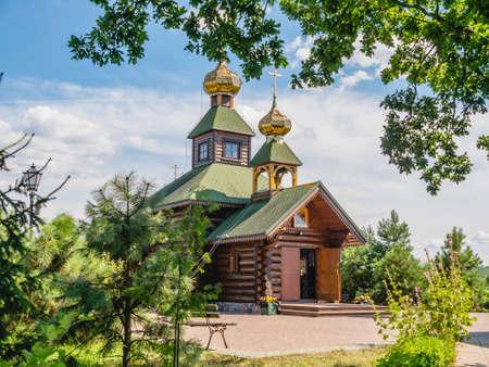Orthodox hermitage in Odrynki, Podlaskie, Poland