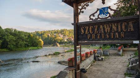Scenic view of Szczawnica, Poland.